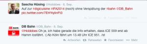 Dialog DB Bahn Hobbbes